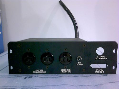 0010-10249 : ASSY, AC OUTLET, 5000 MKII-XT
