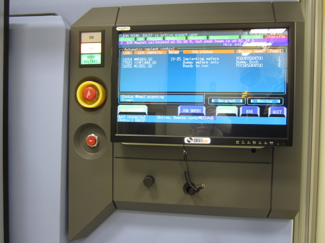 AMAT Implanter 9500 Flat Panel Monitor