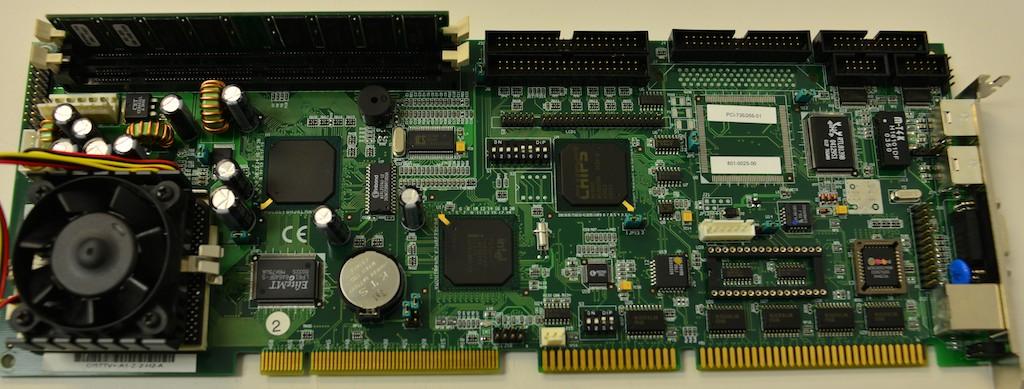 Upgraded SBC PCB