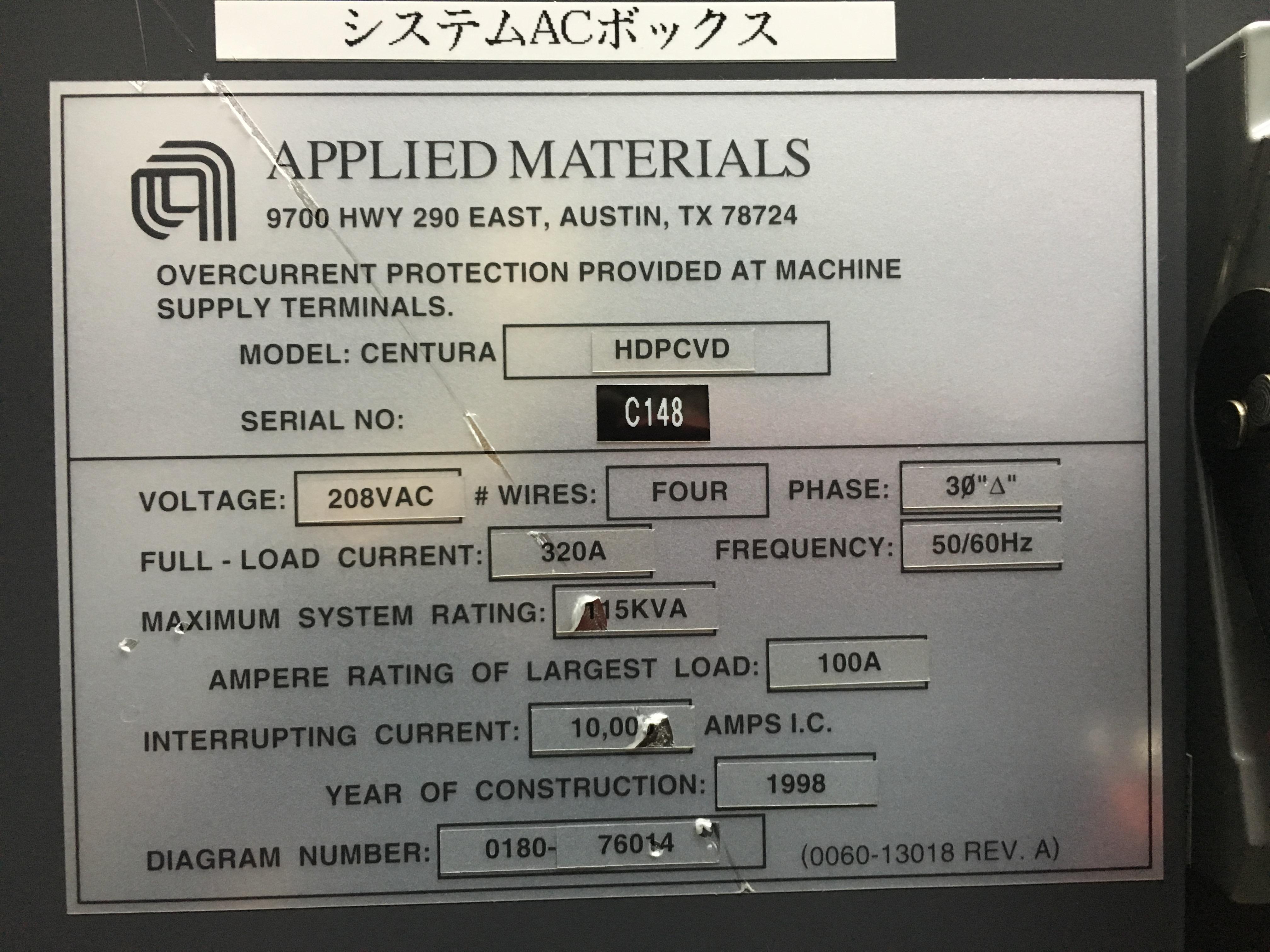 serial number centura hdp C148